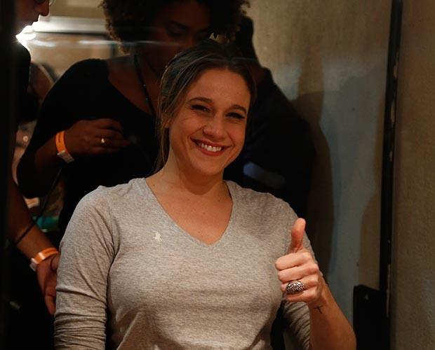 Fernanda revela detalhes da gestação (Foto: Raphael Dias/Gshow)