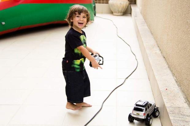 Filho de Priscila Pires (Foto: Divulgação)