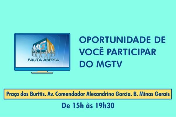 Pauta Aberta é realizada no Bairro Minas Gerais (Foto: Divulgação | TV Integração)