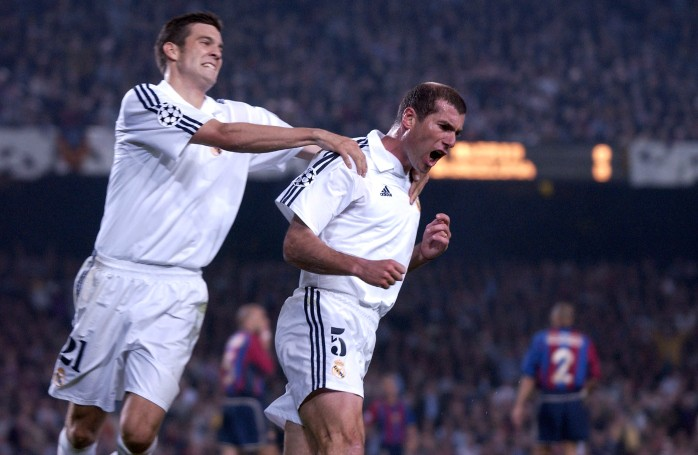 Zidane Real Madrid semifinal Liga dos Campeões Barcelona