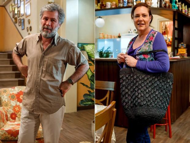 Manuel e Tina são um casal e comandam a família Pereira (Foto: Artur Meninea/ TV Globo)