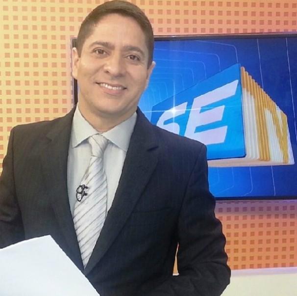 Ricardo Marques apresenta o SETV 2ª Edição (Foto: Divulgação / TV Sergipe)