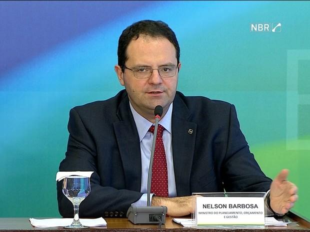 Nelson Barbosa, ministro do Planejamento (Gnews) (Foto: Reprodução GloboNews)