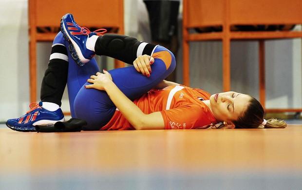 Jaqueline vôlei treino Osasco (Foto: Marcos Ribolli / Globoesporte.com)