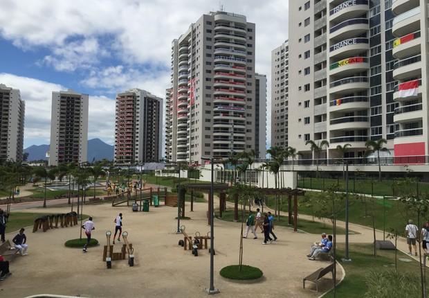 Vila dos Atletas (Foto: Lucas de Oliveira Fernandes)
