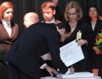 Paulo Câmara foi eleito com 68,08% (3 milhões de votos) (Foto: Luna Markman/G1)