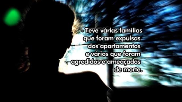 Série mostra relatos de violência vividas por moradores  (Foto: RBS TV/Divulgação)