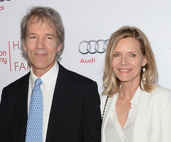 Michelle Pfeiffer e David Kelley (Foto: Getty Images)