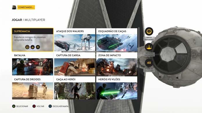 Star Wars Battlefront: aprenda a jogar o novo modo Supremacia (Foto: Reprodução/Murilo Molina)