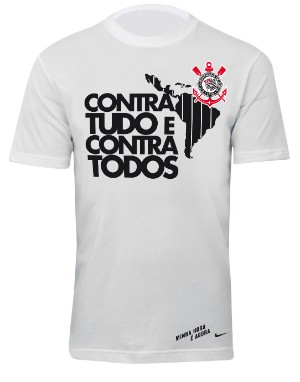 Camisa comemorativa do t&#237;tulo da Libertadores do Corinthians (Foto: divulga&#231;&#227;o)