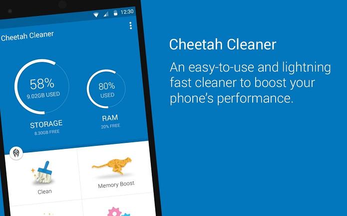 Cheetah Cleaner é um aplicativo para limpar arquivos no Android (Foto: Divulgação)