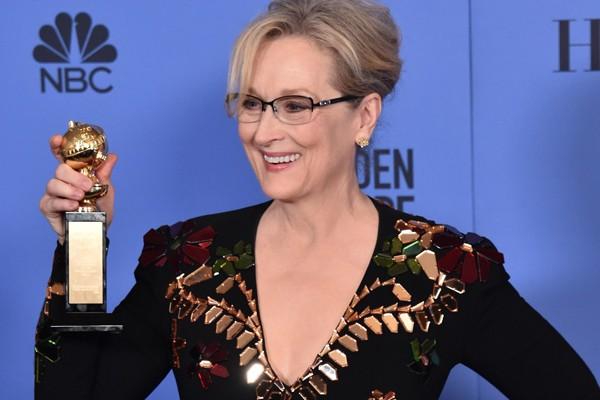 Meryl Streep recebeu homenagem no Globo de Ouro pelo conjunto da obra (Foto: Getty Images)