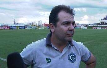 """Técnico do Goiás vê com naturalidade empate com o Anápolis: """"Jogo igual"""""""