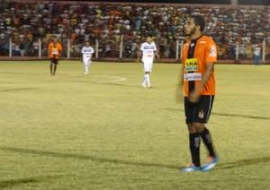 Junior Juazeiro atacante (Foto: Vital Florêncio / GloboEsporte.com)