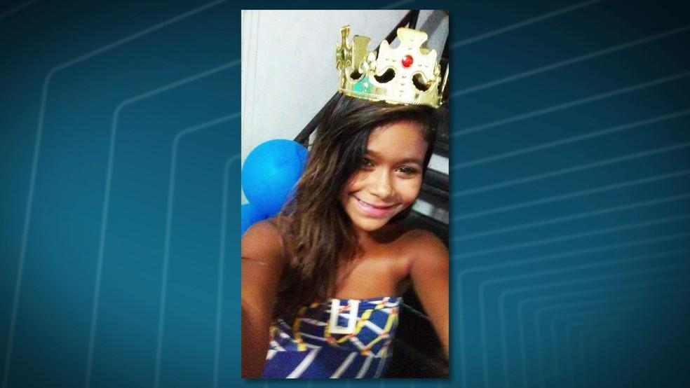 Corpo de menina de 11 anos é encontrado dentro de uma mala.  (Foto: Reprodução / Tv Globo)