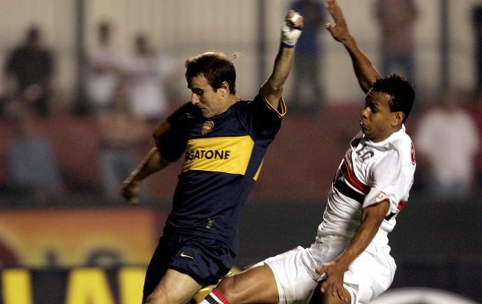 edcarlos São Paulo e Boca juniors fizeram a final da Recopa Sul-Americana (Foto: Reuters)