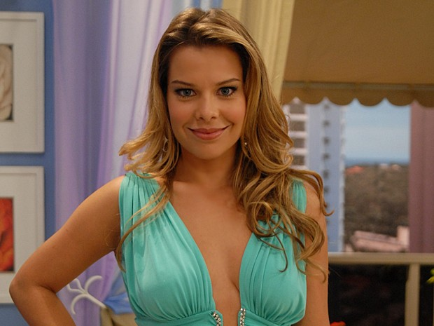No ano de 2007, Fernanda Souza fez muita gente rir com Isadora de Toma Lá, Dá Cá. (Foto: Vídeo Show / Gshow)