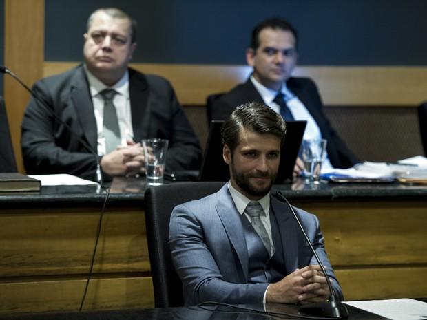Edu decide advogar em causa própria (Foto: Estevam Avellar/Globo)