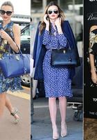 Estampas florais, decotes e fendas, transparências... Veja o estilo de Miranda Kerr, que completa 31 anos