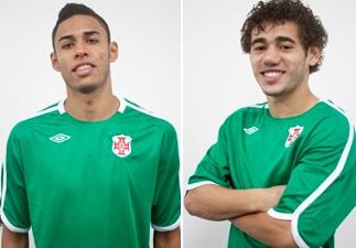 Rico e Rafael acertam com Briosa até novembro (Foto: Divulgação / Site oficial Portuguesa Santista)