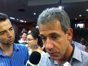 Arthur Chioro deixou cargo em São Bernardo nesta sexta-feira (Foto: Márcio Pinho/G1)