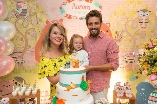 Festa de aniversário da filha de Rafael Cardoso (Foto: Rebecca Penna Firme / Divulgação)