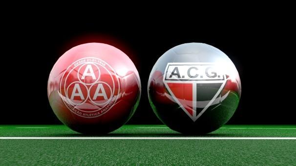 Anapolina e Atlético neste domingo (1)  (Foto: TV Anhanguera)