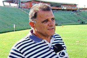 Ernani Nogueira, diretor de futebol do Uberaba Sport Clube (Foto: Reprodução/TV Integração)