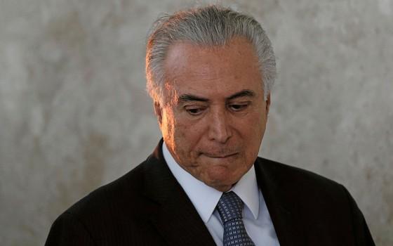 Michel Temer presidente do Brasil (Foto:  Ueslei Marcelino / Reuters)