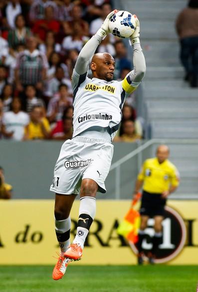 Jefferson botafogo e Fluminense Série a (Foto: Agência Getty Images)