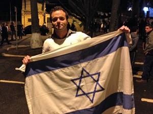 Persio Bider, da Juventude Judaica Organizada (Foto: Marcelo Mora/G1)