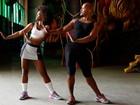 Erika Januza tem aula de interpretação corporal para interpretar Oxum na Marquês de Sapucaí