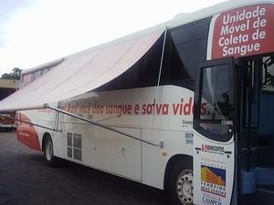 Praça de Campos vai receber unidade de coleta móvel de sangue (Foto: Superintendência de Comunicação de Campos)