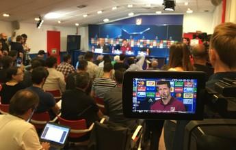 """Simeone enche a bola de Griezmann, mas não se vê seu mentor: """"Mais um"""""""