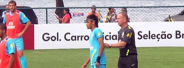Neymar, Seleção Brasileira Treino (Foto: Leandro Canônico / Globoesporte.com)