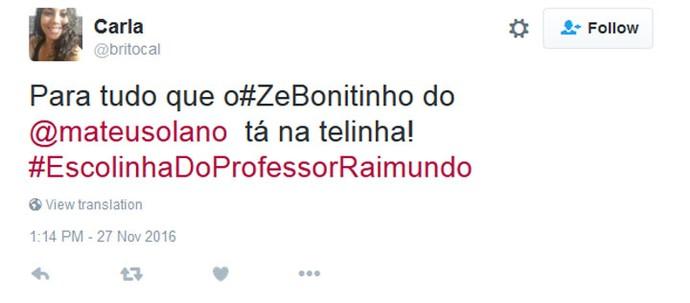 Zé Bonitinho (Foto: Divulgação)