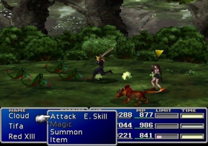 Final Fantasy VII foi um dos jogos mais caros desenvolvidos pela Square Enix (Foto: Divulgação)