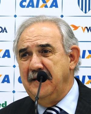 Nilton Macedo Machado Avaí (Foto: Diego Madruga)
