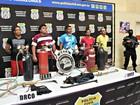 Cinco são presos após tentativa de furto (Indiara Bessa/G1 AM)