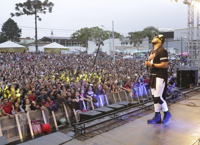Festival Promessas em São José dos Pinhais - Ton Carfi (Foto: Luiz Renato Correa / RPC)