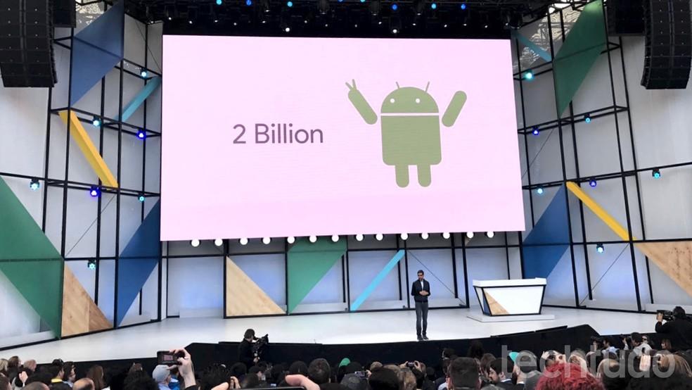 Android já está em 2 bilhões de dispositivos; 1,2 bilhão são smartphones (Foto: Danny Farias/TechTudo)