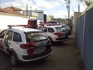 Desativação cadeia Itapeva (Foto: Carlos Alberto Soares / TV TEM)