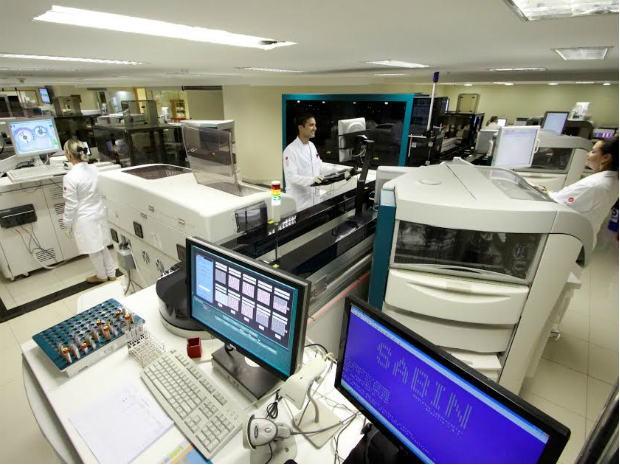 Laboratorio exame aracatuba