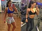 Graciella Carvalho perde 9% de gordura: 'Antes, parecia um toicinho'