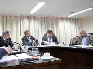 CCJ da Assembleia do RN desconsiderou pedidos contra Rosalba, Carlos Augusto Rosado e Robinson Faria (Foto: Divulgação/Assembleia Legislativa)
