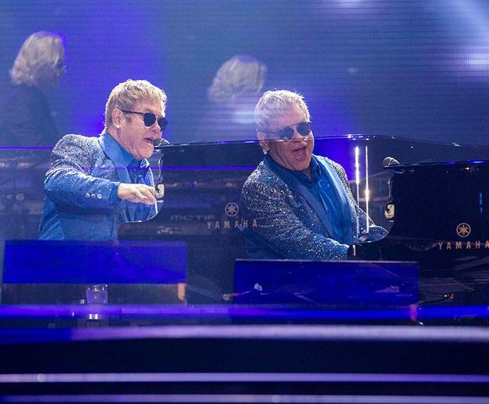 Improvisos ao piano marcam a apresentação (Foto: Inácio Moraes/Gshow)