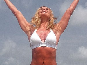 Nadja Winits posta foto na praia: chuva de elogios  (Foto: Arquivo pessoal)