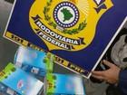 Motorista é detido com pássaros em caixas de leite em Uberlândia