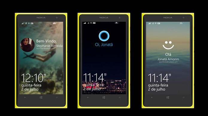 10Lock é um aplicativo que adiciona o visual do Windows 10 na tela de bloqueio do telefone (Foto: Divulgação/Windows Store)
