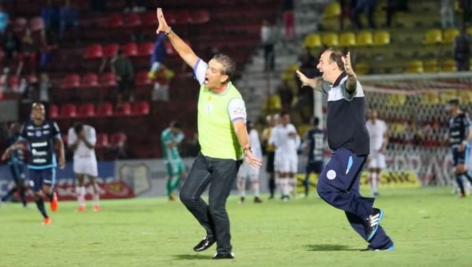 Paulo Roberto Santos, técnico do São Bento (Foto: Jesus Vicente/ EC São Bento)